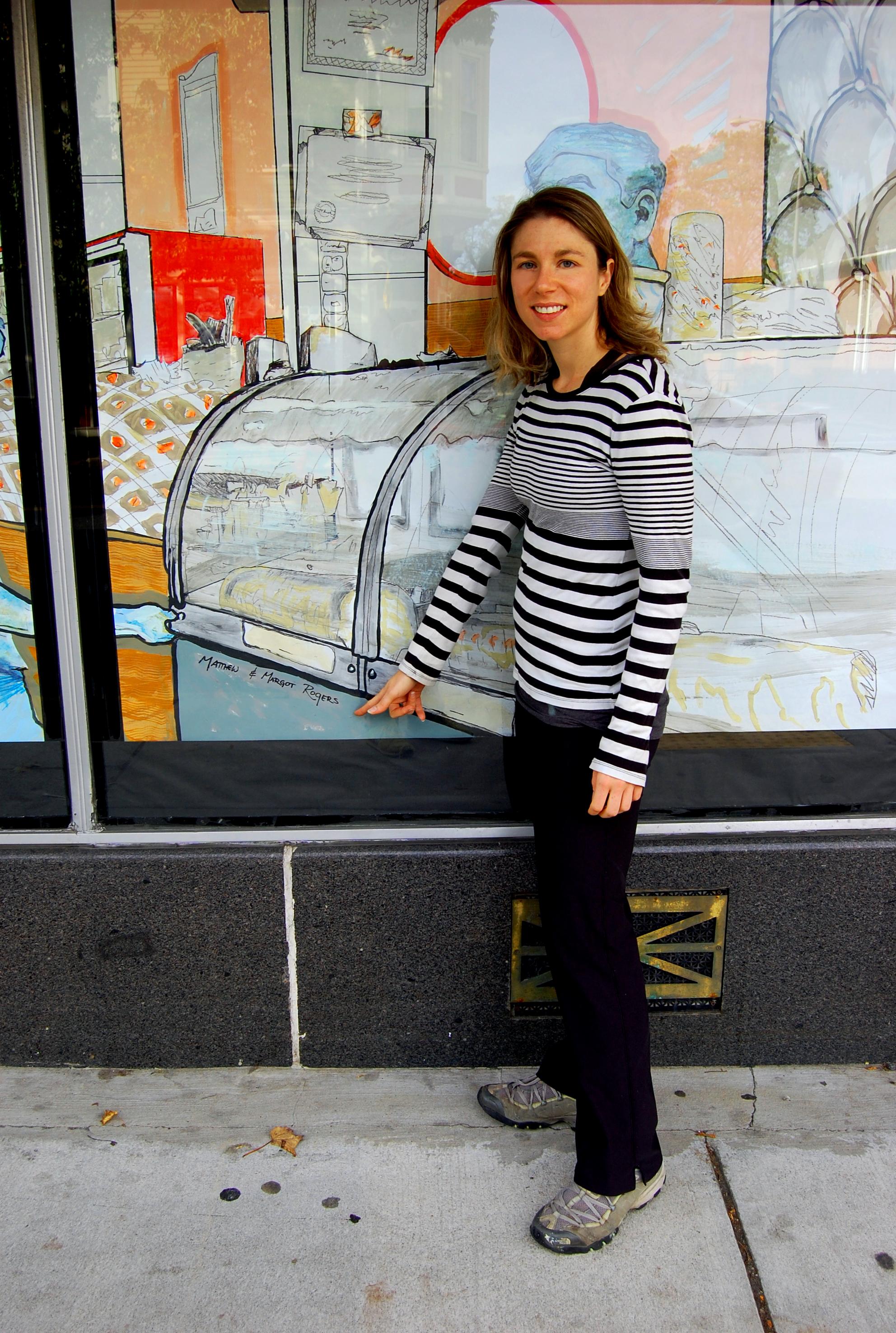 bell market mural Margot Rogers