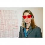 Margot Rogers Harvard Art Show glasses