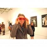 Margot Rogers heart glasses