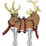 pushmepullu reindeer