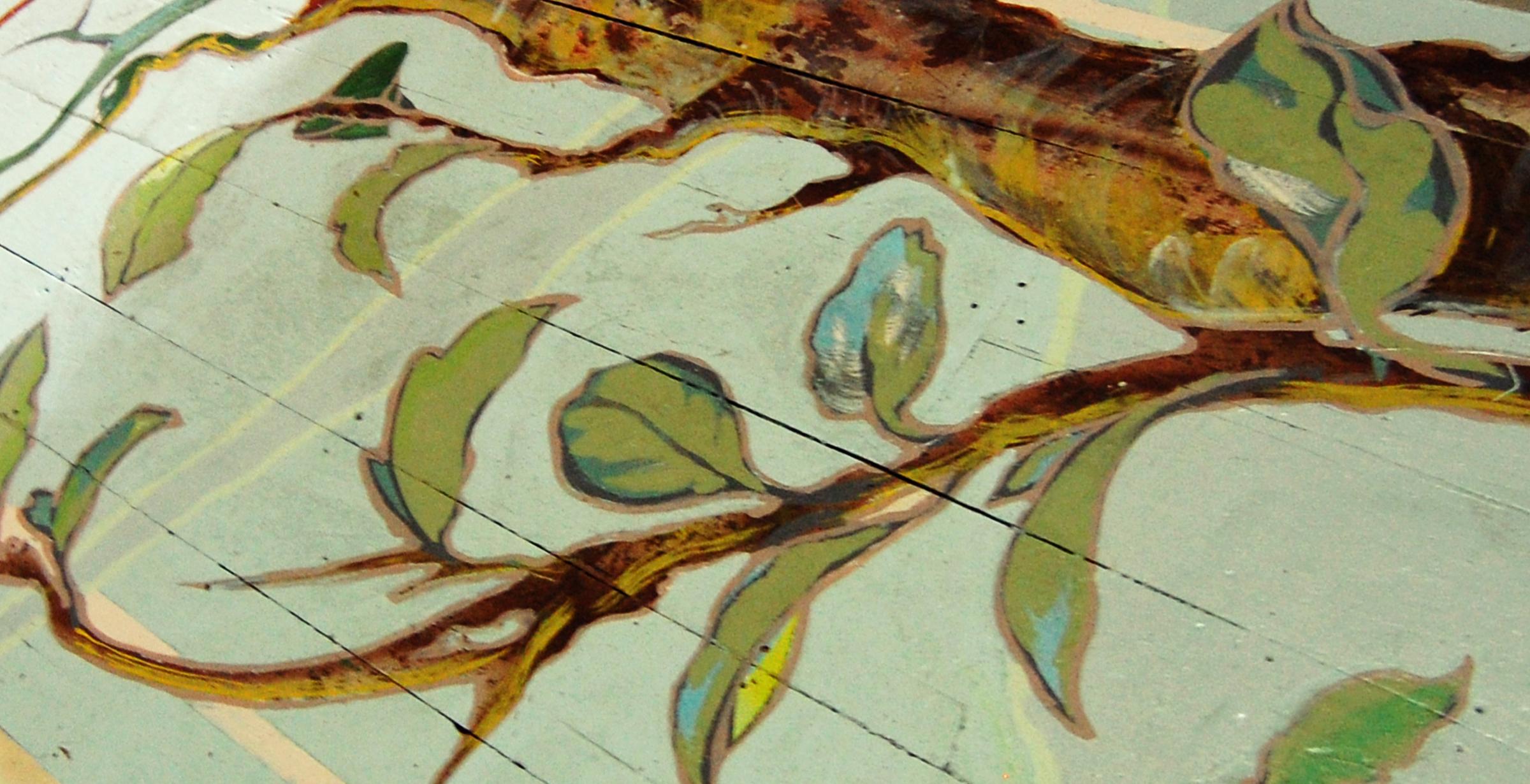 Custom Painted Tree Mural