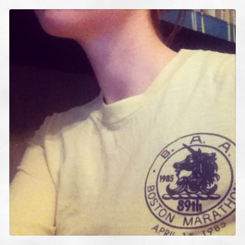 1985 Vintage Marathon Shirt